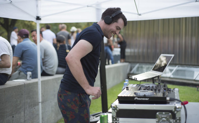 DJ RAMALAMA spins tunes at the 2017 Young Patrons Season Kick-Off. Photo by Ronald L. Jones.