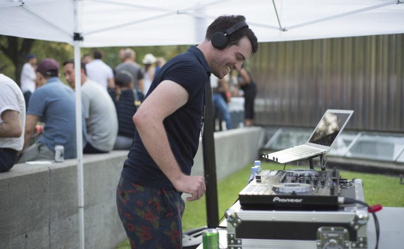 YOUNG PATRONS | DJ RAMALAMA spins tunes at the 2017 Young Patrons Season Kick-Off. Photo by Ronald L. Jones.