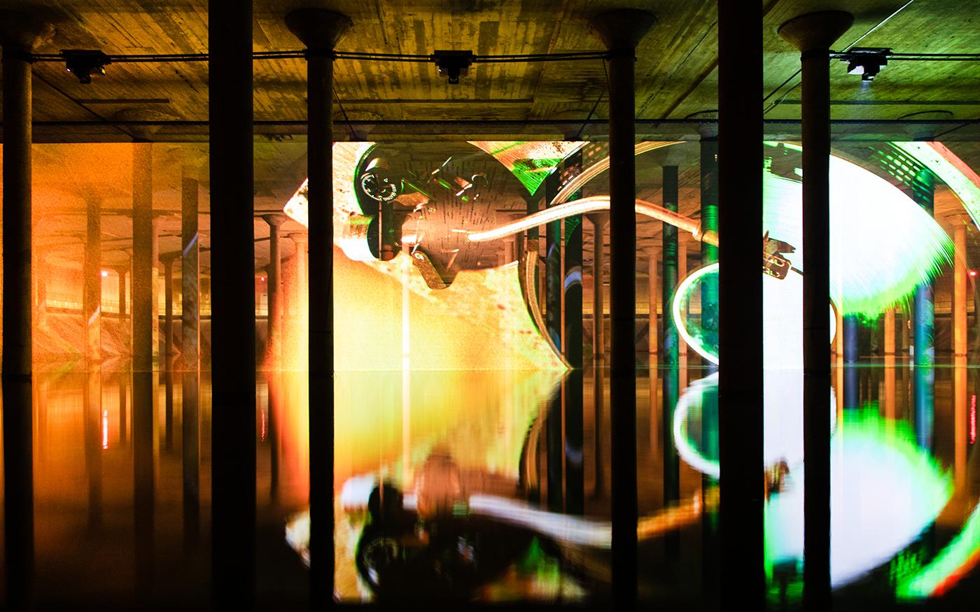 Collectors Circle | Buffalo Bayou Park Cistern Tour