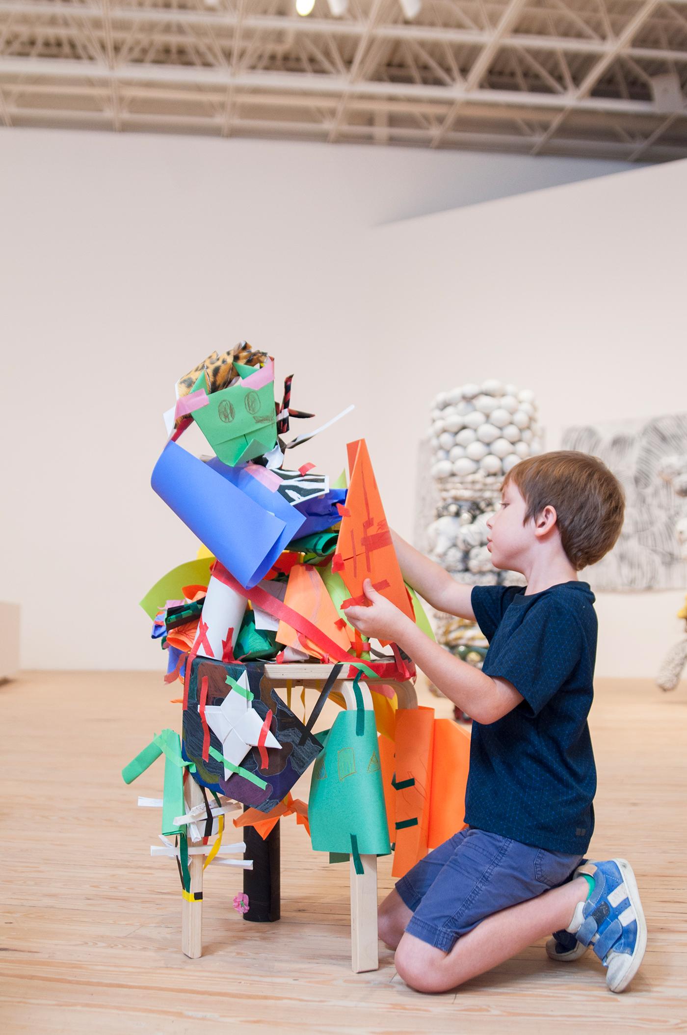 3D Paper Sculptures | Drop-In Experience