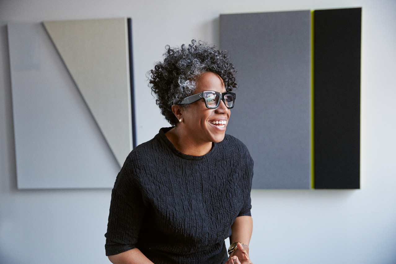 Donate | Artist Jennie C. Jones. Photo by Jason Frank Rothenberg.
