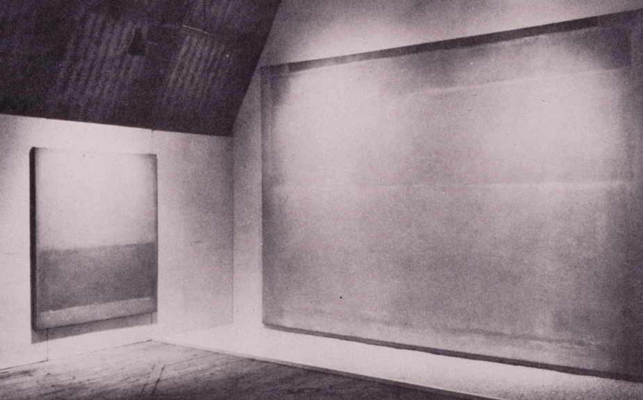 1950s CAMH Exhibitions Mark Rothko