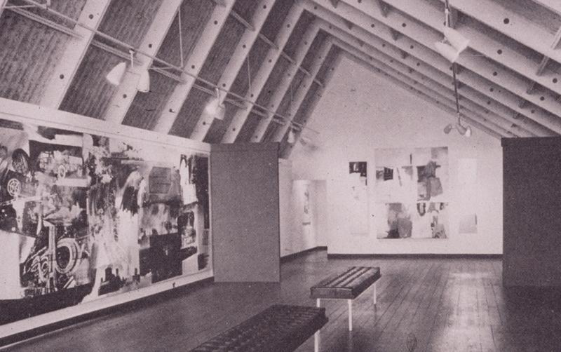 1960s CAMH Exhibitions Robert Rauschenberg