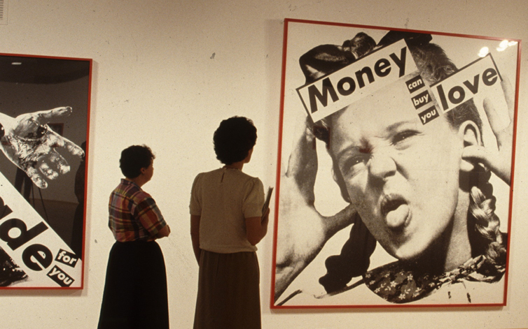 1980s CAMH Exhibitions Barbara Kruger