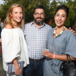 Susie Bowen, Peter Pettigrew, and Calia Alvarado Pettigrew at the 2016 Young Patrons Season Kick-Off at the Contemporary Arts Museum Houston. Photo by Daniel Ortiz.