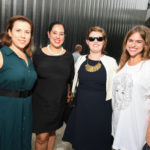 Nellen Hawkins, Brett Ashley Longoria, Sarah Henderson, and Victoria Ridgway at the 2016 Young Patrons Season Kick-Off at the Contemporary Arts Museum Houston. Photo by Daniel Ortiz.