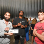 Noorullah Shinwar, Matthew Reid, and Yacine Venz at the 2016 Young Patrons Season Kick-Off at the Contemporary Arts Museum Houston. Photo by Daniel Ortiz.