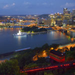 Pittsburgh from the Duquesne Incline, Pittsburgh, Pennsylvania