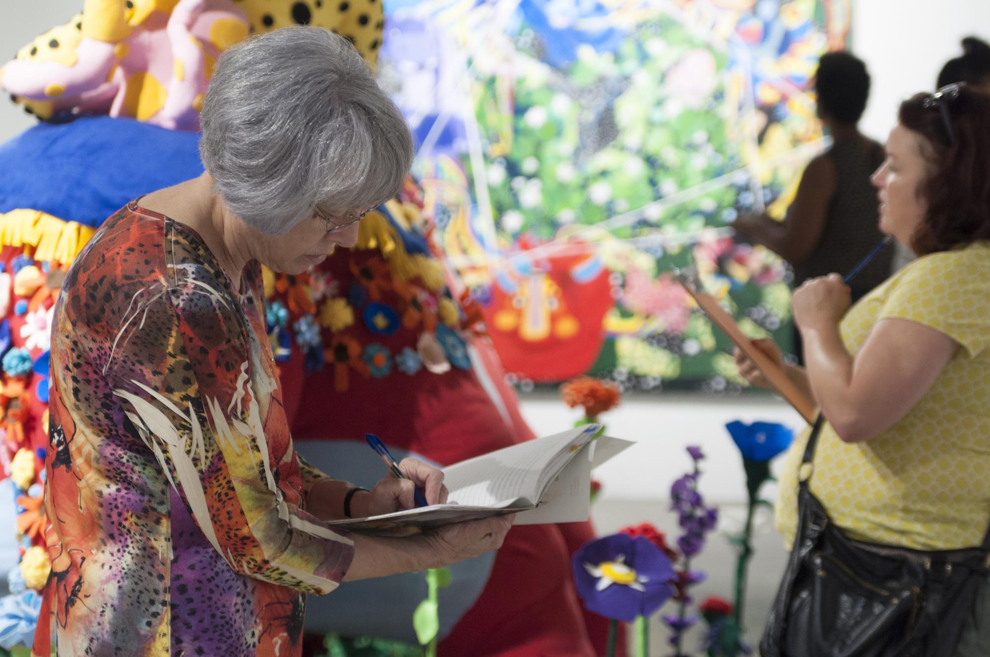Visit | Words+Art Workshop, 2017. Photo by Ronald Jones.