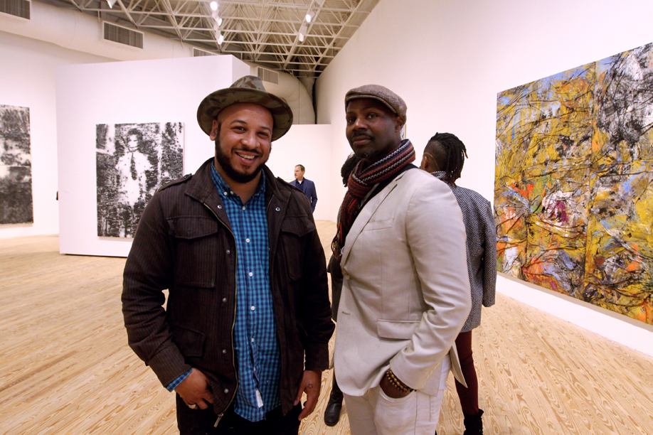 Join & Give | Houston artists enjoy an opening reception at CAMH