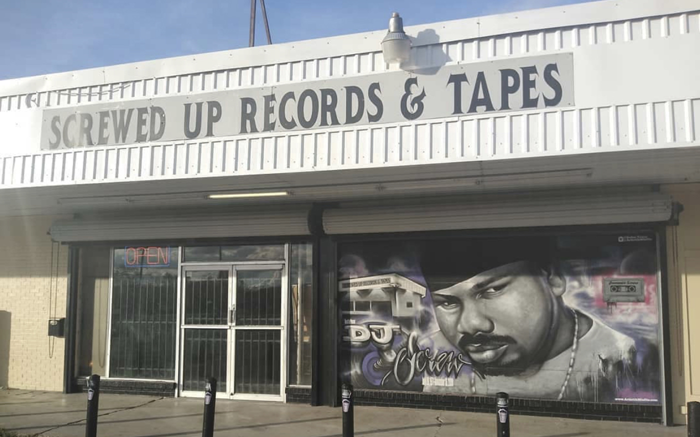 Screwed Up Records and Tapes in Southwest Houston Texas
