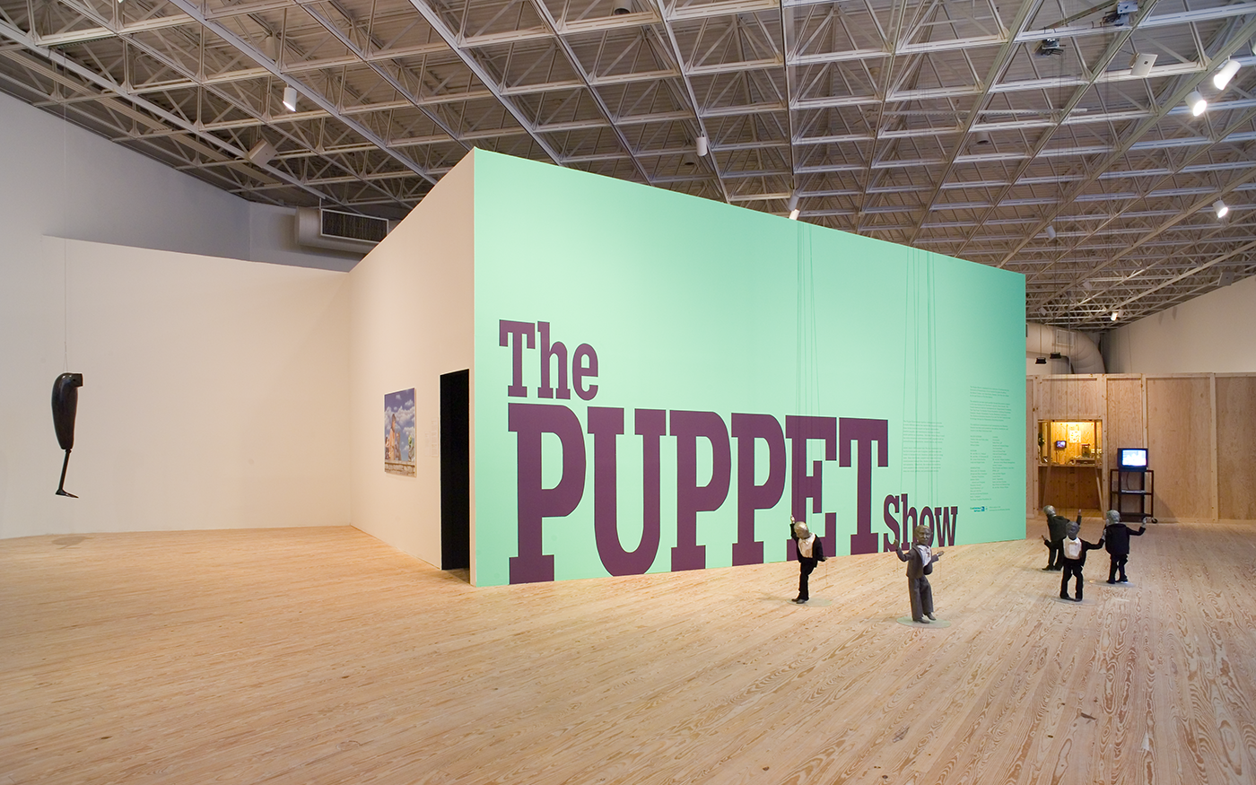 The Puppet Show @ Brown Foundation Gallery