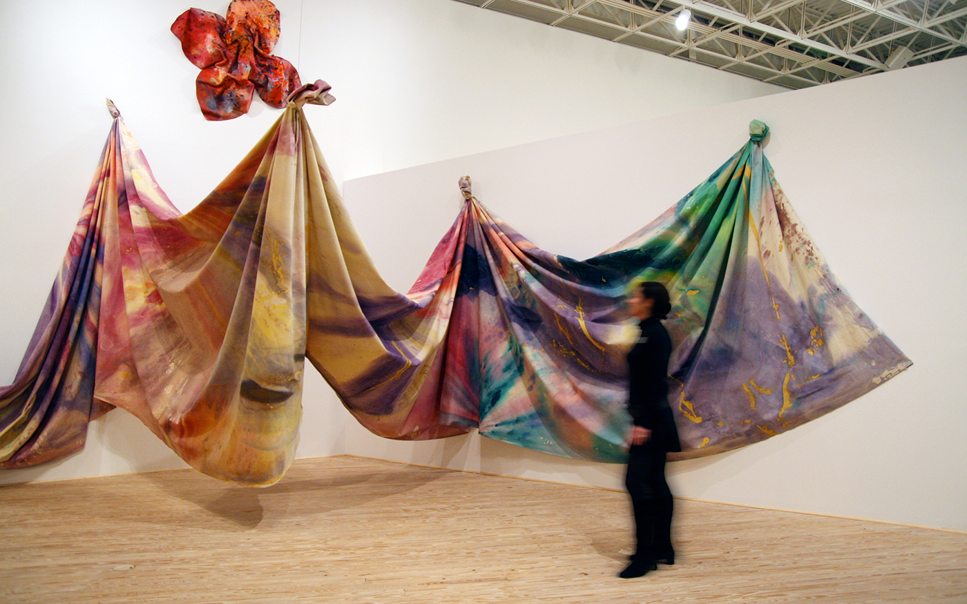 Sam Gilliam: a retrospective @ Brown Foundation Gallery