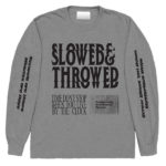 Front of Slowed and Throwed tee.